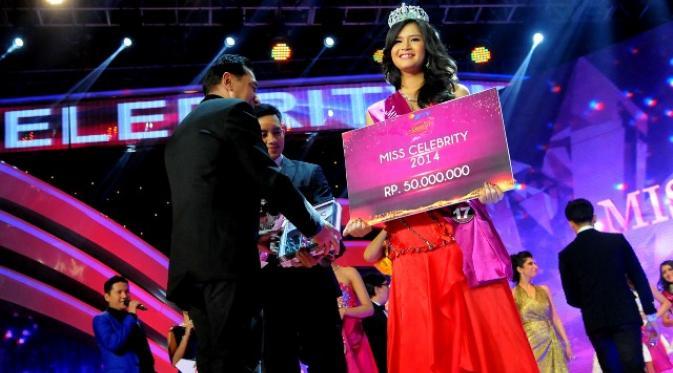 Syarifah Reihan Afridila AL Habsyi, Sang pemenang Miss Celebrity Indonesia 2014 bersama Ellips (1/3)