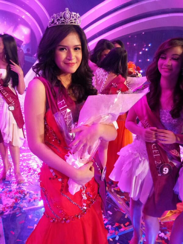Syarifah Reihan Afridila AL Habsyi, Sang pemenang Miss Celebrity Indonesia 2014 bersama Ellips (2/3)